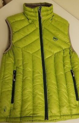 Big Agnes Men's Ways Gulch Down Vest Small (Lime/Green)