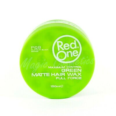 Red One Maximum Control Green Matte Hair Wax