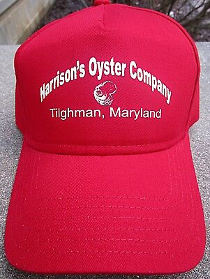 Harrisons Oyster Co Hat Tilghman Island Isl Maryland Md Shucking House Not Tin