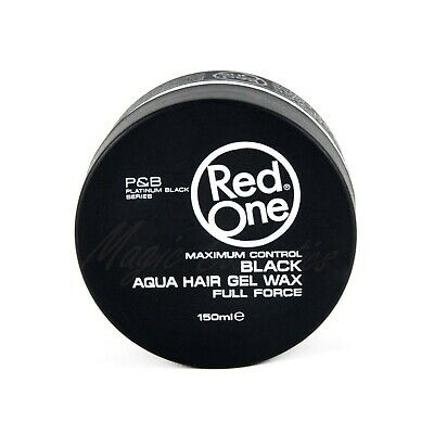 Red One Maximum Control Black Aqua Hair Wax