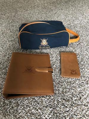 Old Palm Golf Club Frank Millar Maritime Inspired Shoe Bag & Tica Leather Items