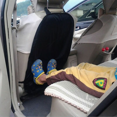2 X Car Auto Care Seat Back Protector Cover For Children Kick Mat Mud Clean UK