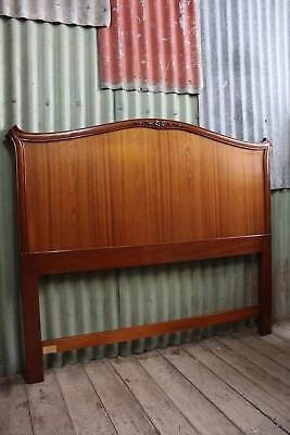 A Quality Made French Mahogany Bed Head 1.53m