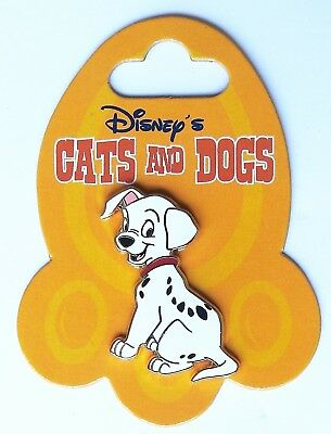 Disney Pin DLRP Cats and Dogs 101 Dalmatians Lucky