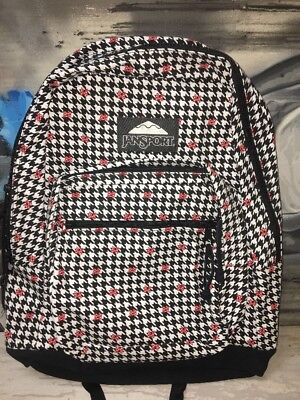 JanSport Disney Right Pack SE Laptop Backpack (Minnie White Houndstooth) 5ff842877a88d