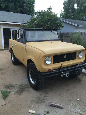 1965 International Harvester Scout  international scout 80