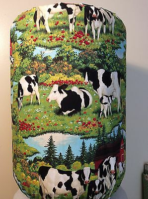 Cows Farm Milk Moo Dairy 5 Gallon Water Cooler Bottle Cover Kitchen Decoration