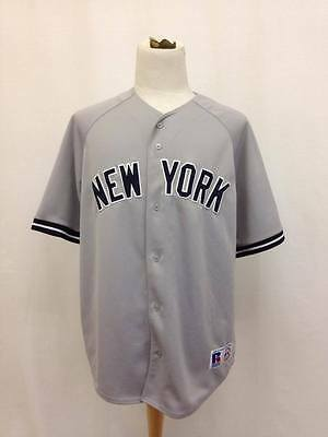689e34ec0 VINTAGE NEW YORK Yankees Russell Athletic MLB Jersey Size XXL ...