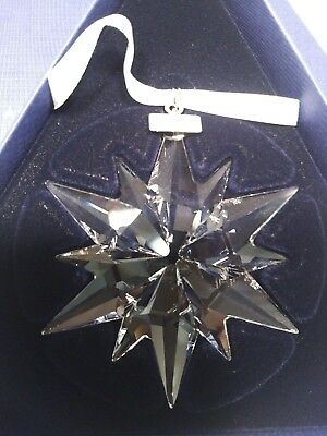 NEW Genuine Swarovski Crystal Annual Christmas Ornament 2017 Large Star