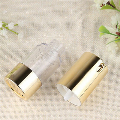 15/30/50ML Portable Empty Refillable Airless Lotion Pump Cosmetic Bottle EU