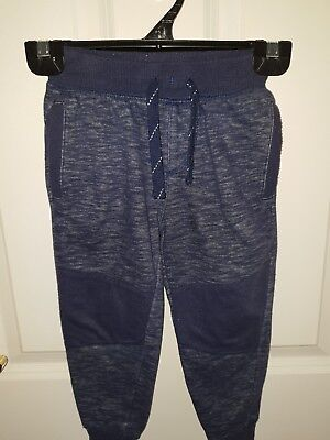 Toddler Boys size 3 Navy Blue Marle Track Pants