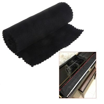 New 88 Keys Black Soft Dust Cover Cloth for Piano Key Keyboard Cover Case Cloth