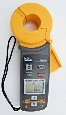 Ideal 61-920 - Ground Resistance Clamp Tester Meter