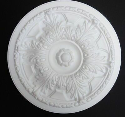 "Ceiling Rose Size 445MM (17 1/2"") - Lightweight Polystyrene  'COUNTRY SPLENDOUR'"