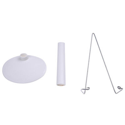 Support stand of Doll White Adjustable 5.9 to 8.3 inches. O7S8