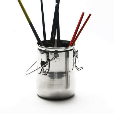 Portable Brush Washer Stainless Steel Paint Brush Cleaner Artist Supplies Pot