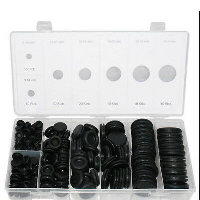 170pcs Extensive Rubber Stoppers Body Plugs Stoppers
