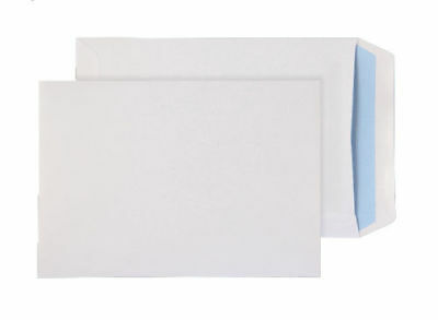 C5 A5 Self Seal 229 x 162 mm Pocket Business Envelope - White Pack Box of 500