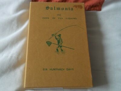 salmonia or days of fly fishing sir humphry davy 1970 slipcased vintage angling