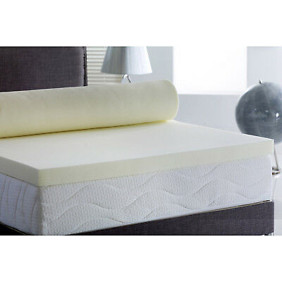 Memory Foam Mattress Topper, Now in Any Size Any Depths - Cheapest Online
