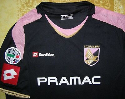 Cavani 7 maglia Palermo 2008 - 2010 third shirt Lotto player issue match jersey