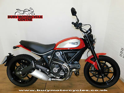 Ducati Scrambler Icon. 2016. 1 Owner. Low Mileage. Stunning Retro Bike