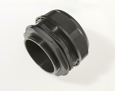 M90 Black Nylon Cable Gland IP68 66 - 77mm Cable dia with Locknut & Washer
