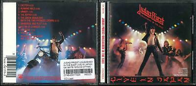 Judas Priest Unleashed In The East Live In Japan Ck 36179 1979 Cd Ottimo Usato