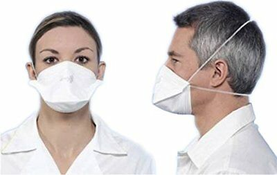 10 Valmey FFP3 Mask Filters 99% of Airborne Particles Ebola Avian Flu Bacteria
