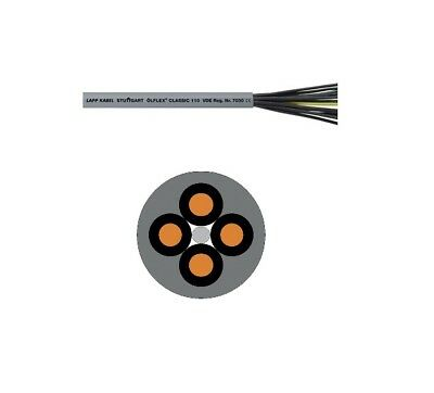 Wire, Cable & Conduit Lappkabel 1135804 Classic 110 Cy Kontrolle Datenkabel 4 X 0.75mm ² Kein Erde