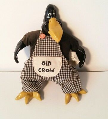 Russ Berrie & Co  OLD CROW #2917 Kathleen Kelly Critter Factory