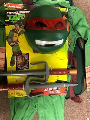 Deluxe Classic Raphael Costume with SAIS SMALL 4-6