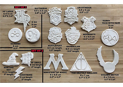 Harry Potter-Inspired Cookie cutter cake decoration fondant