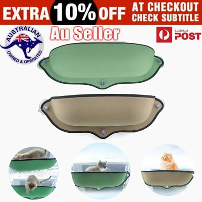 Removable Cat Window Mounted bed Seat Pets Sunny Hammock Cover  K@