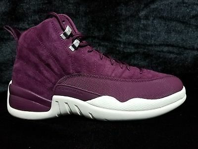 "Air Jordan 12 Retro Xii ""bordeaux 130690 617 Ds 2017 Release W/free Shipping"