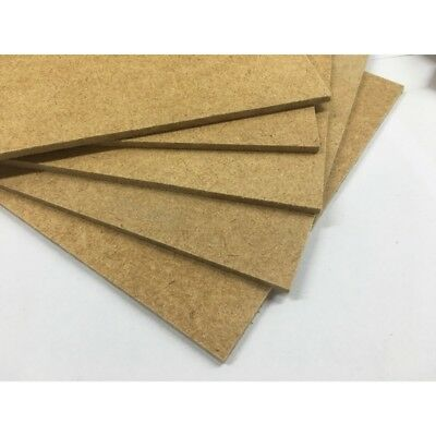 """HARDBOARD 3MM FOR CRAFT, PICTURE FRAMES ETC, 1000s OF USES  4"""" TO 8"""" SQUARE"""