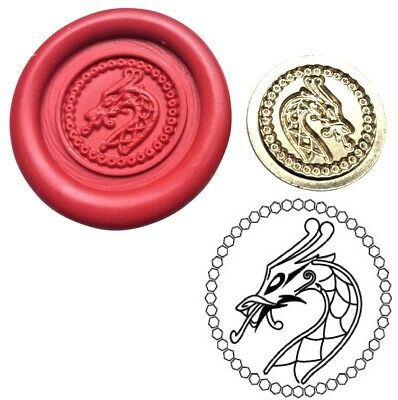 Viking Dragon Head Wax Stamp Seal Starter Kit or Buy Coin Only  XWS039B/XWSC184