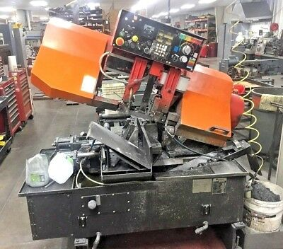 "Amada HFA250W 10"" x 10"" Horizontal Automatic Band Saw, Year 1991"