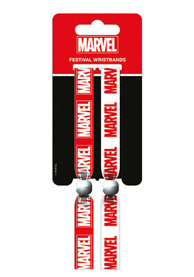 Marvel Festival Wristband Comic Con Avengers Flash Thor Iron Man Hulk X-Men