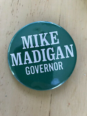 Illinois Democrat Speaker Mike Madigan for Governor button pinback