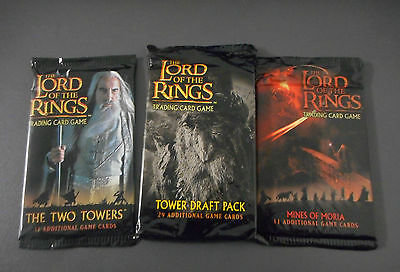 Lord Of The Rings Tcg Booster Herr Der Ringe Two Towers Draft Mines Of Moria !