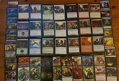 MTG Bulk Lot 100 Cards Common/Uncommon with Land & Guaranteed Rares & Foil/Token