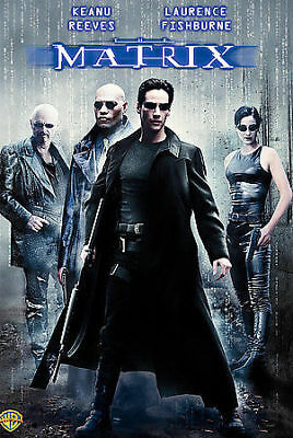 The Matrix (DVD, 2007) Keanu Reeves Sci-Fi Movie New Sealed DVD