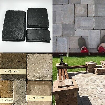 24pc PAVER MOLDS (3 Sizes) Concrete Cast