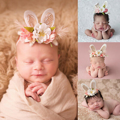 Toddler Newborn Baby Hair Headbands Infant Girls' Princess Photography Props