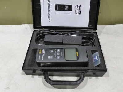 General Anemometer/Thermometer Hot Wire Data Logger W/ Sd Card Hwa4214Sd