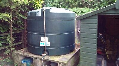 TITAN USED OIL tank capacity 596 gallons height 1440mm