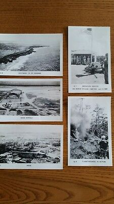 9 RPPC Postcards USMC WWII 6th Marines China Unused
