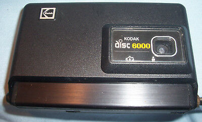 Kodak Disc 6000 Film Compact Photo Picture Point & Shoot Camera Aspheric Lens