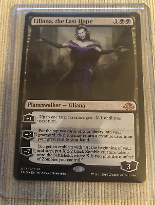 Magic the Gathering Liliana, the Last Hope Englisch